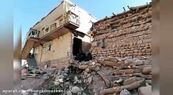 روند بازسازی در مناطق سیل زده روستاهای شهرستان فریدونشهر- استان اصفهان