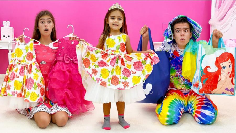 تصویر از ناستیا و میا – میا بزرگ تر شده – خریدهای جدید برای میا با استیسی