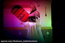 ماه بانو و صنم گل در صحنه ای از تئاتر «نارگل خاتون»... گروه هنری آناهید.