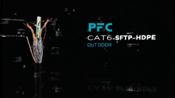 PFC CAT6 SFTP HDPE OUTDOOR