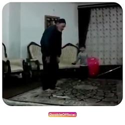 درگیری بابا بزرگ و نوه سر نماز
