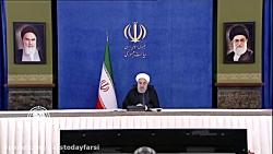 روحانی: امریکا در توقف نوسازی ناوگان حمل و نقل ایران ناکام ماند