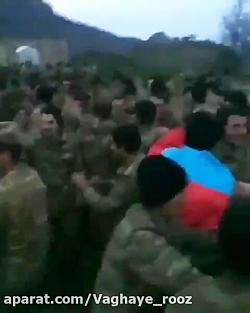 شادی نیروهای ترک آذری پ...