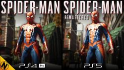 مقایسه گرافیک [Spider-Man Remastered [PS5 و [Spider-Man [PS4