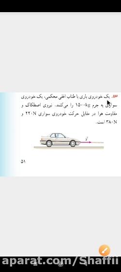 تمرین ۱۳فصل دوم فیزیک دوازدهم تجربی مدرس طیبه شفیعی