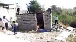 حاشیههای تخریب خانه طیبه رمضان زاده زن بندرعباسی