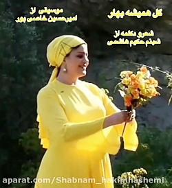 گل همیشه بهار... شعر و دکلمه از شبنم حکیم هاشمی، موسیقی از امیرحسین خاصی پور