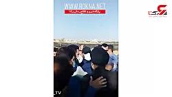 درگیری امام جمعه و مردم روستای ابوالفضل اهواز با نیروهای شهرداری