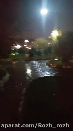 پاییز و بارونش