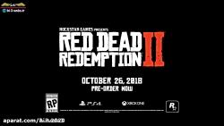 تریلر بازی جذاب Red Dead Redemption 2 (دوبله فارسی)