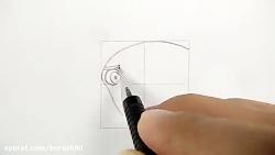 آموزش طراحی بوروتو راسنگان  از انیمه ی بوروتو