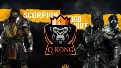 Mortal Kombat : Scorpion Vs Noob Saibot