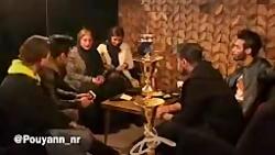 دوربین مخفی طنز پویان ان آر و پیمان ان آر در کافیشاپ