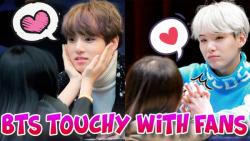 BTS و لحظه های جالب با طرفداران