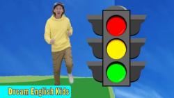 آموزش زبان انگلیسی به کودکان همراه با ترانه : چراغ راهنمایی