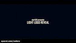پروژه افترافکت نمایش لوگو Light Logo Reveal