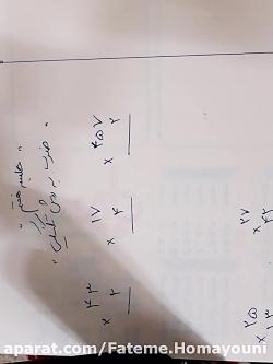 آموزش ضرب ویدئو 15 ضرب دو رقم در دو رقم به روش تکنیکی قسمت دوم