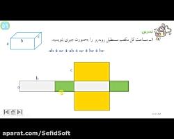 تدریس دبیران سفیدسافت فصل 4 ریاضی هشتم /ش2/مدرس: مسعود ترقی/