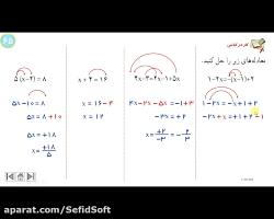 تدریس دبیران سفیدسافت فصل 4 ریاضی هشتم /ش4/مدرس: مسعود ترقی/