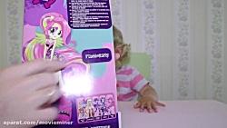 ماجراهای دیانا و روما ::  عروسک های پونی کوچک فلاترشای و اپل جک برای دختران