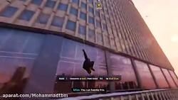 گیم پلی بازی اسپایدر من مایلز مورالس (marvel spider man miles morales) قسمت اول