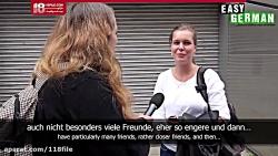 آموزش زبان آلمانی | یادگیری زبان آلمانی (یافتن دوست در آلمان)