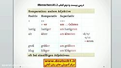 آموزش رایگان زبان آلمانی - درس بیست و دوم - قسمت 2 - کتاب منشن Menschen A1.2