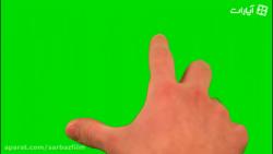 فووتیج کروماکی حرکات دست