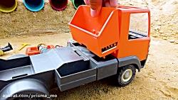 ماشین بازی / اسباب بازی / ساخت اسباب بازی های کامیون 217