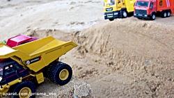 ماشین بازی / اسباب بازی / تراکتور ، بیل مکانیکی و کامیون 219