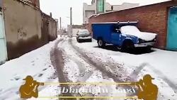 بارش برف زمستان درسطح نادیلو