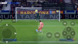 بازی بارسلونا و یوونتوس در فیفا ۱۹ فینال لیگ قهرمانان اروپا بازی پرگل