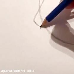 نمونه کار سیاه قلم