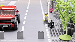ماشین بازی کودکانه :: اسباب بازی کودکان :: ماشین پلیس و موتور سیکلت