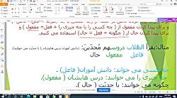 تدریس عربی دوازدهم تجربی تیزهوشان