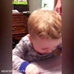 وقتی بچه ها چیزای ترش میخورند! فقط قیافه هاشون...