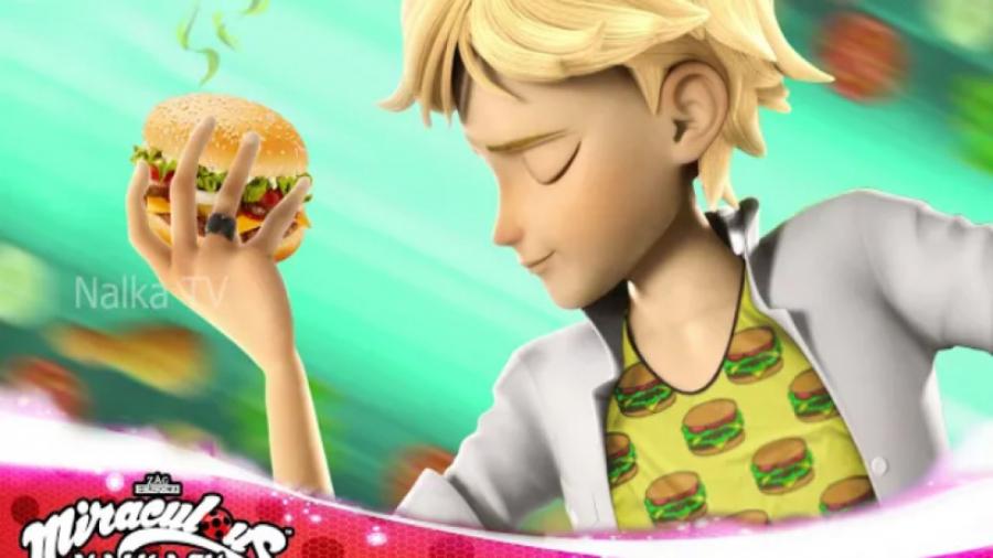 تبدیل فان و جدید آدرین به همبرگر ...