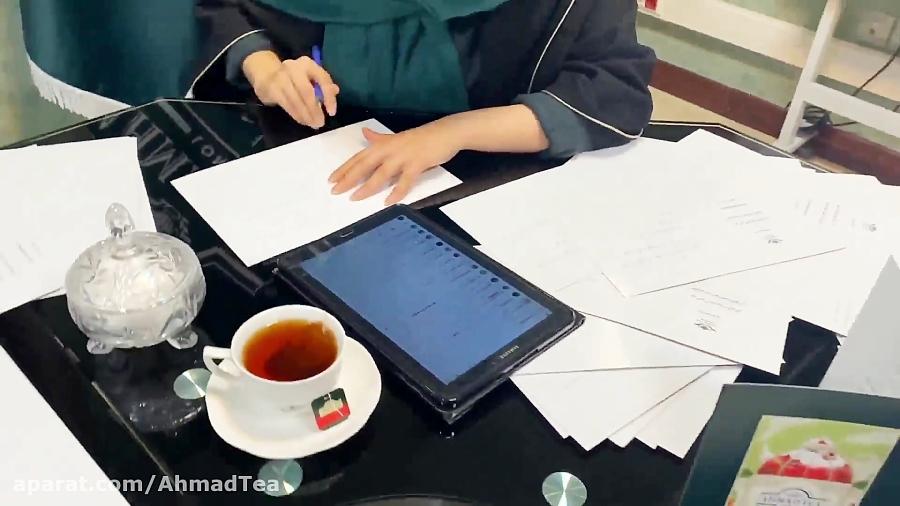 کامنت هواداران چای احمد برای کادر درمان