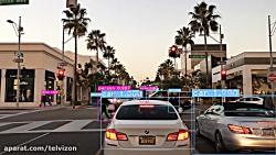 نه (9) دقیقه رانندگی در کالیفرنیا با سیستم تشخیص آبجکت | (خیابانهای جهان 197)