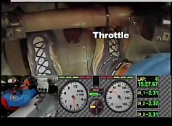 تکنیک های رانندگی- تکنیک پاشنه-انگشت پا