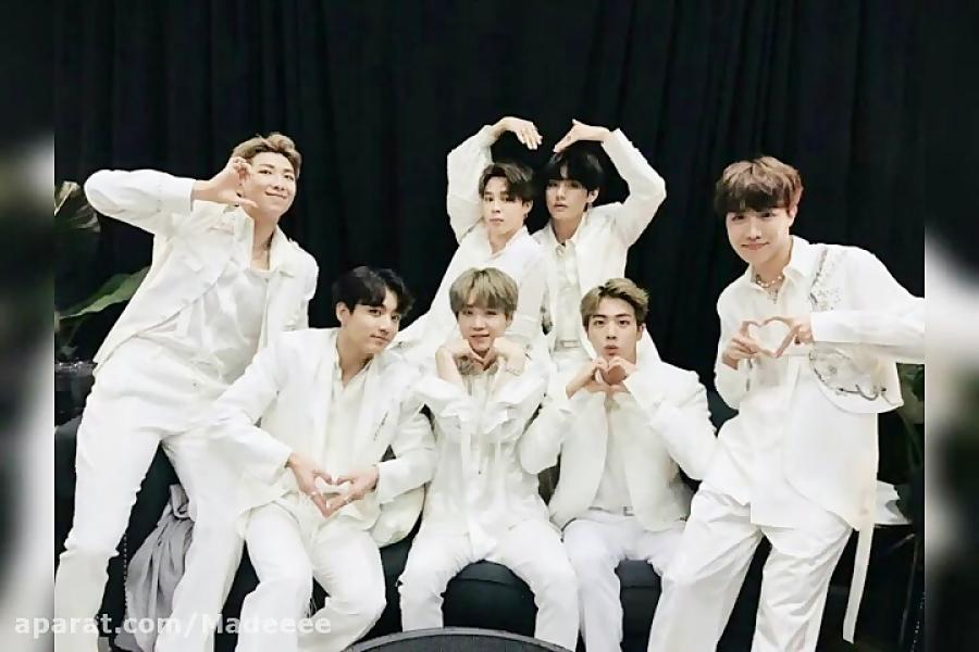 با تمام وجودم به عشقام BTS