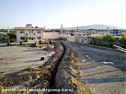 طراحی اجرای روشنایی  سینی کشی کارخانجات صنعتی شهرستان ها کرج تهران