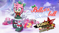 Sonic Forces Speed Battle _ Jingle Bell Amy