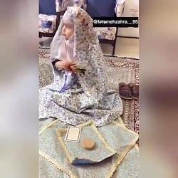 رفتار مامان ها در حال نماز