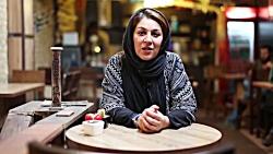 پیام مردمی ستاره اسکندری بازیگر سریال دندون طلا