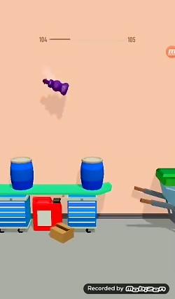 یکی از بهترین بازی های پرشی گیم پلی بازی پرش بطری سه بعدی  بازی های اندروید