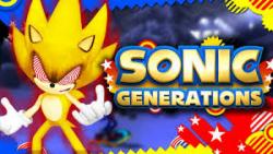 fleetway sonic on sonic generations]