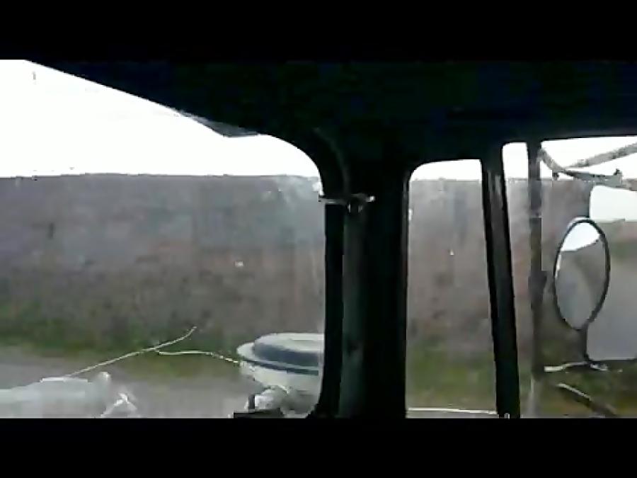 رانندگی با ماک از مراغه تا اصفهان با 24 تن کربنات