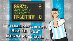 برزیل ۲ آرژانتین 0دنبال=دنبال