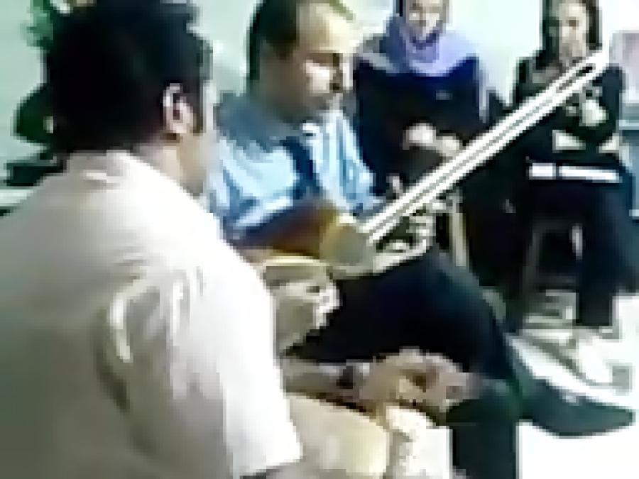 بداههنوازی نیما فریدونی تار  ایمان ملکی تنبک  حدود سال ۱۳۸۷